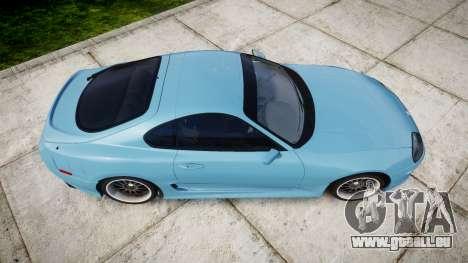 Toyota Supra 1998 pour GTA 4 est un droit