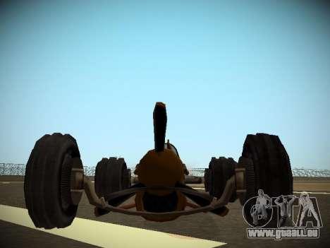 Rustler-Stab Beta für GTA San Andreas rechten Ansicht