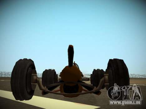 Rustler Tige Bêta pour GTA San Andreas vue de droite
