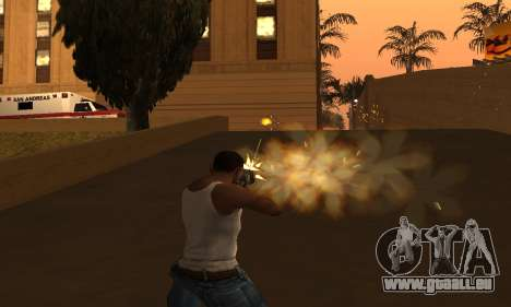 Yellow Effects pour GTA San Andreas