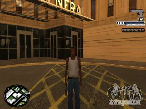 CLEO HUD Spiceman für GTA San Andreas her Screenshot