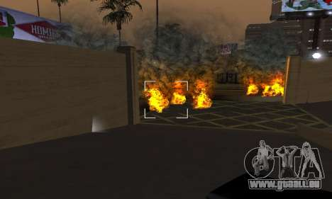 Yellow Effects für GTA San Andreas fünften Screenshot