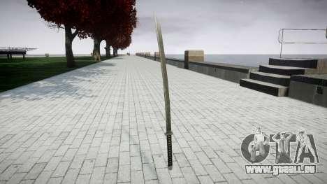 Schwert-Yamato- für GTA 4 Sekunden Bildschirm