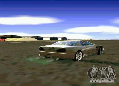 Elegy Restyle für GTA San Andreas linke Ansicht