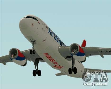 Airbus A319-100 Air Serbia für GTA San Andreas Motor