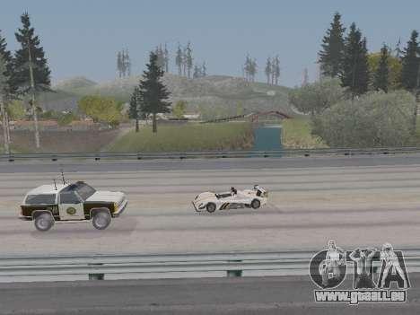 Jundo ENB Series V0.1 pour les faibles PC pour GTA San Andreas quatrième écran