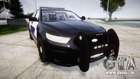 Ford Taurus 2014 Sheriff [ELS] pour GTA 4