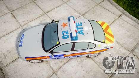 BMW 525d E60 2006 Police [ELS] pour GTA 4 est un droit