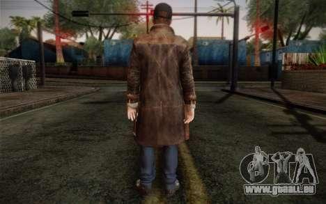 Aiden Pearce from Watch Dogs v12 für GTA San Andreas zweiten Screenshot