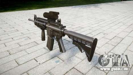 Automatique M4 carbine Tactique, Messieurs, pour GTA 4 secondes d'écran