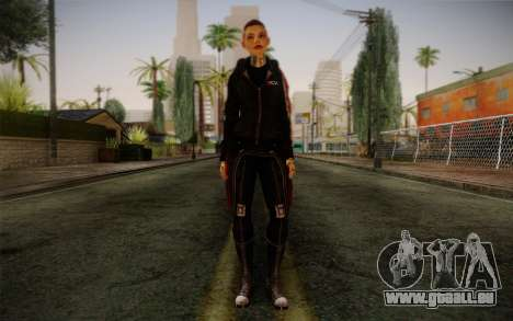 Jack Hood from Mass Effect 3 pour GTA San Andreas