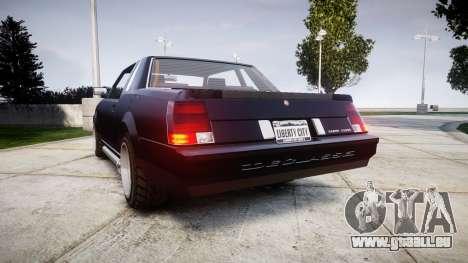 Declasse Sabre Premium für GTA 4 hinten links Ansicht