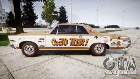 Pontiac GTO 1965 GeeTO Tiger für GTA 4 linke Ansicht