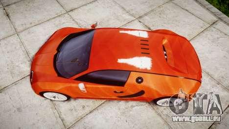 Bugatti Veyron 16.4 SS [EPM] Halloween Special für GTA 4 rechte Ansicht
