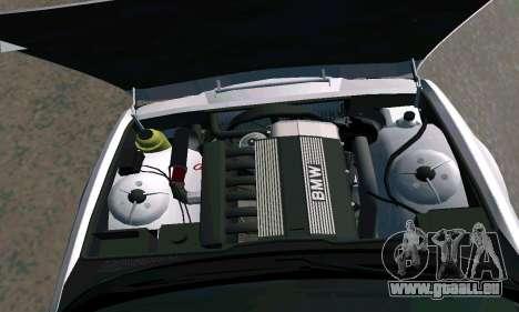 BMW 525 Turbo pour GTA San Andreas vue de droite