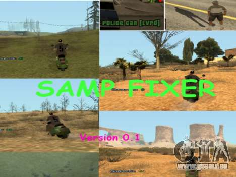 SAMP Fixer für GTA San Andreas