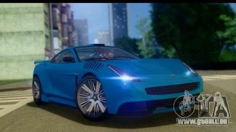 GTA 5 Dewbauchee Massacro pour GTA San Andreas