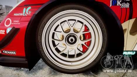 Porsche 911 Super GT 2013 pour GTA 4 Vue arrière