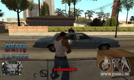 C-HUD Ghetto Tawer pour GTA San Andreas
