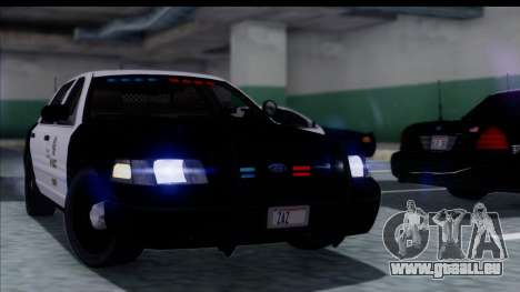 LAPD Ford Crown Victoria Slicktop für GTA San Andreas