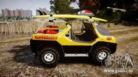 Ford Intruder Lifeguard Beach [ELS] pour GTA 4 est une gauche