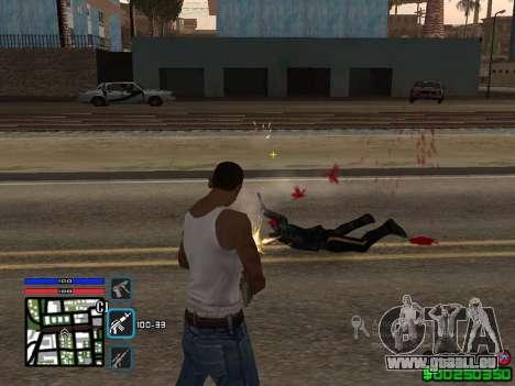 C-HUD by SampHack v.4 pour GTA San Andreas deuxième écran