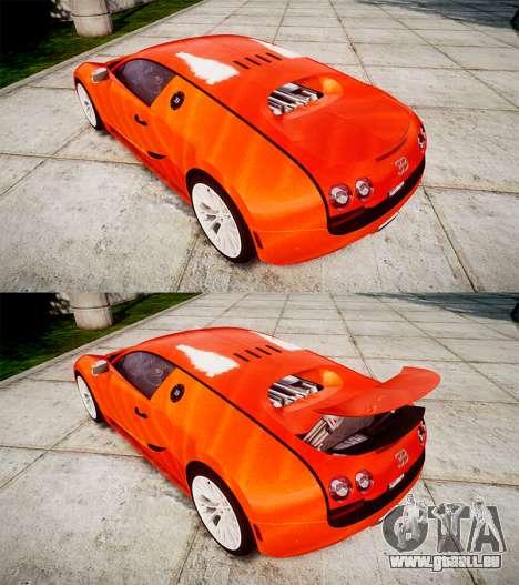 Bugatti Veyron 16.4 SS [EPM] Halloween Special für GTA 4 Seitenansicht