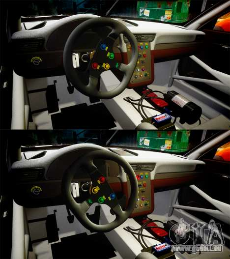 RUF RGT-8 GT3 [RIV] RobOil pour GTA 4 vue de dessus