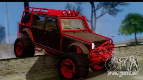 GTA 5 Mesa MerryWeather für GTA San Andreas