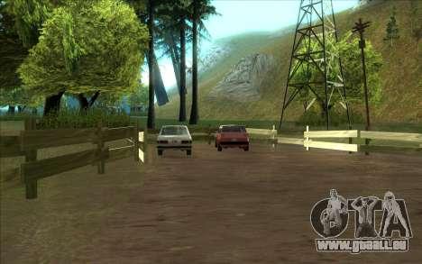 Straße garage von Siega für GTA San Andreas zweiten Screenshot