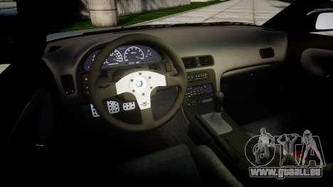 Nissan 240SX SE S13 1993 pour GTA 4 est un côté