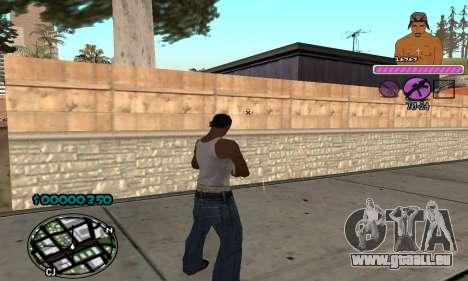 C-HUD 2Pac für GTA San Andreas dritten Screenshot
