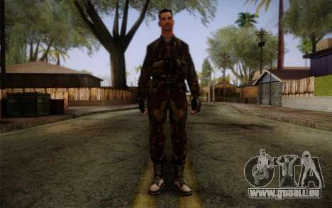 Soldier Skin 1 pour GTA San Andreas