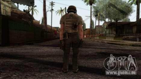 Modern Warfare 2 Skin 19 pour GTA San Andreas deuxième écran