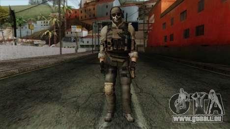 Modern Warfare 2 Skin 10 pour GTA San Andreas