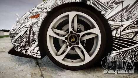 Lamborghini Gallardo LP570-4 Superleggera 2011 S pour GTA 4 Vue arrière