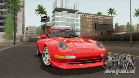 Porsche 911 GT2 (993) 1995 [HQLM] pour GTA San Andreas sur la vue arrière gauche