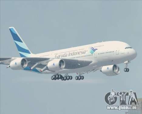 Airbus A380-800 Garuda Indonesia für GTA San Andreas