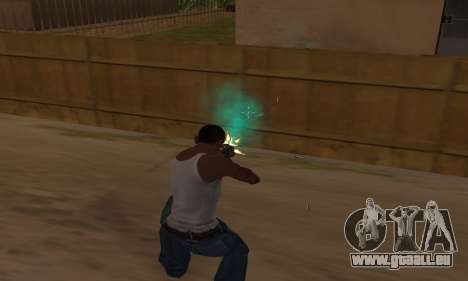 Türkis effects für GTA San Andreas