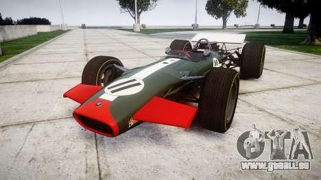 Lotus Type 49 1967 [RIV] PJ11-12 pour GTA 4