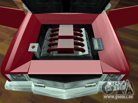 Buccaneer-Turbo für GTA San Andreas obere Ansicht