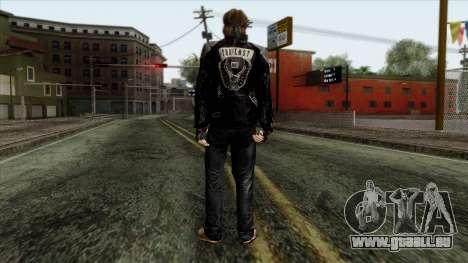 GTA 4 Skin 10 pour GTA San Andreas deuxième écran