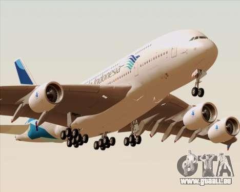 Airbus A380-800 Garuda Indonesia pour GTA San Andreas moteur