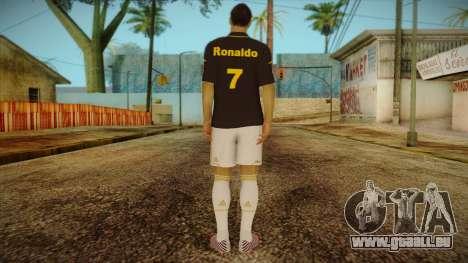Footballer Skin 3 pour GTA San Andreas deuxième écran