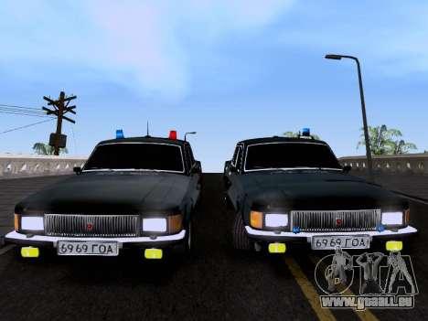 GAZ Wolga 3102 für GTA San Andreas rechten Ansicht