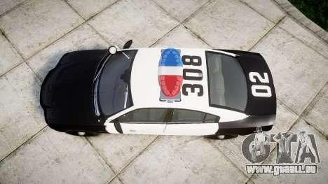 Dodge Charger 2013 LAPD [ELS] pour GTA 4 est un droit