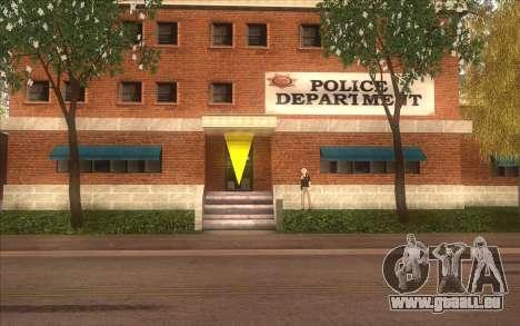 La relance du village Dillimore pour GTA San Andreas troisième écran