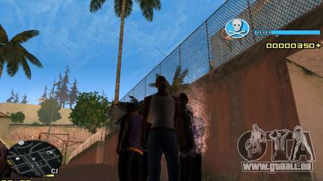 C-HUD Blue für GTA San Andreas