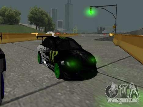 Mitsubishi Lancer Evo 9 Monster Energy für GTA San Andreas