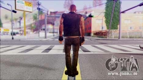 Left 4 Dead Survivor 3 pour GTA San Andreas deuxième écran